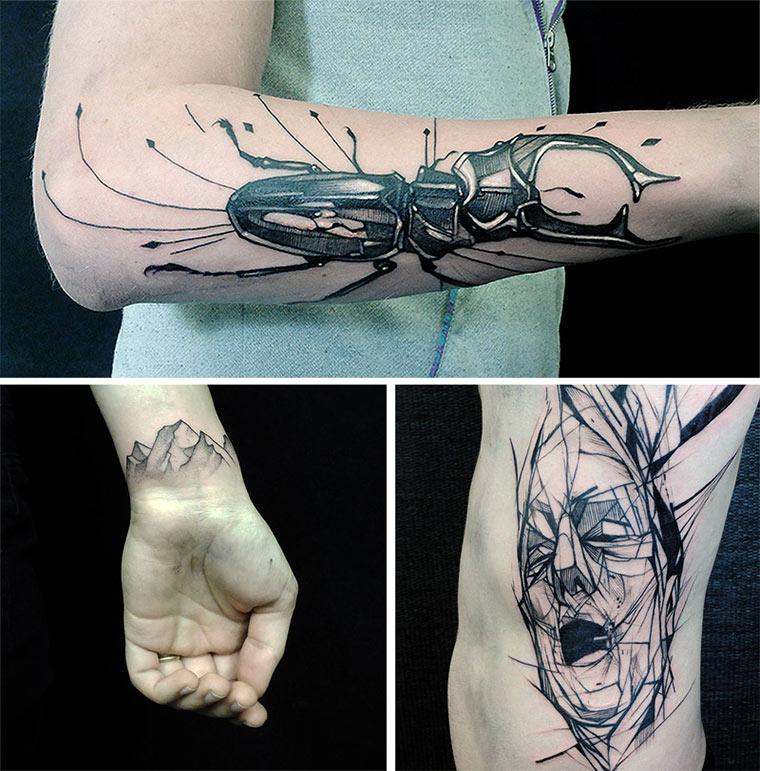 Tattoos & Zeichnungen: Jan Mráz Jan_Mraz_07