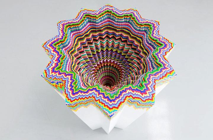 kaleidoskopische Papier-Skulpturen Jen_Stark_05