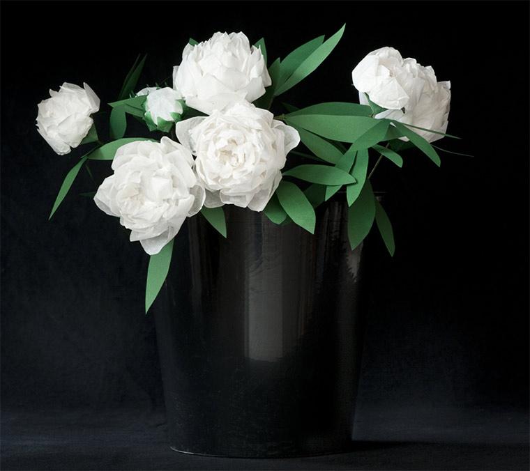 Blumen aus gefaltetem Papier Margarete-Schruefer_01