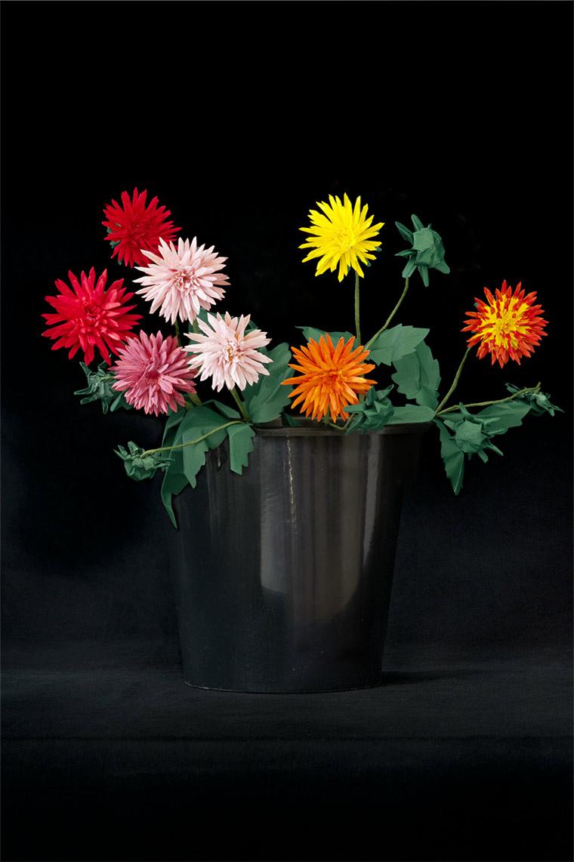 Blumen aus gefaltetem Papier Margarete-Schruefer_02