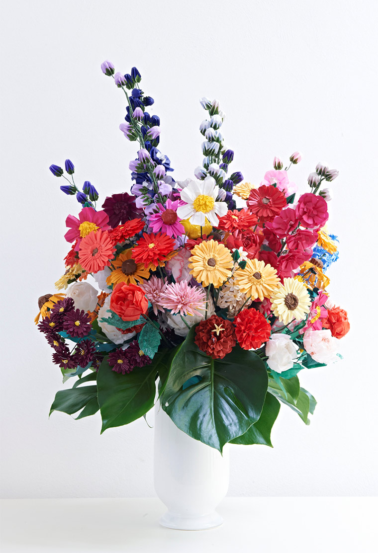 Blumen aus gefaltetem Papier Margarete-Schruefer_03