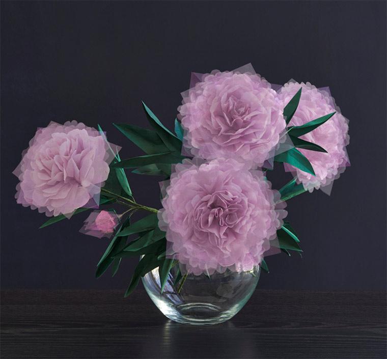 Blumen aus gefaltetem Papier Margarete-Schruefer_06