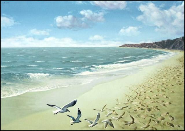 paintings by Mihai Criste