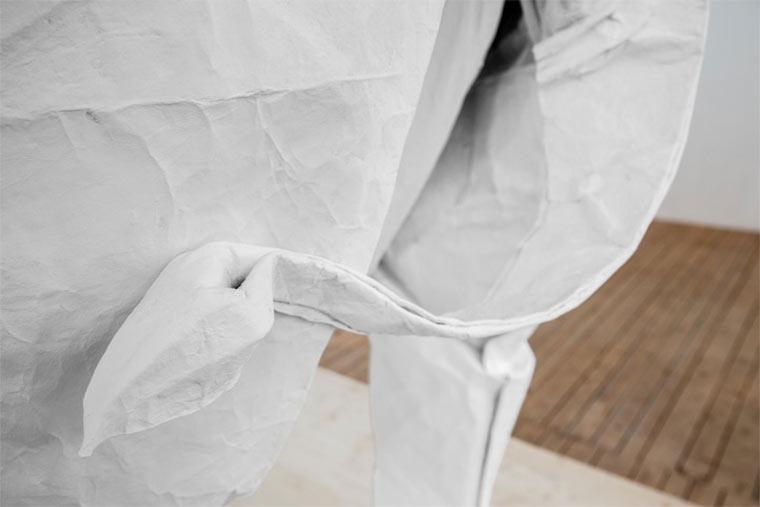 lebensgroßer Origami-Elefant Origami_Elephant_05