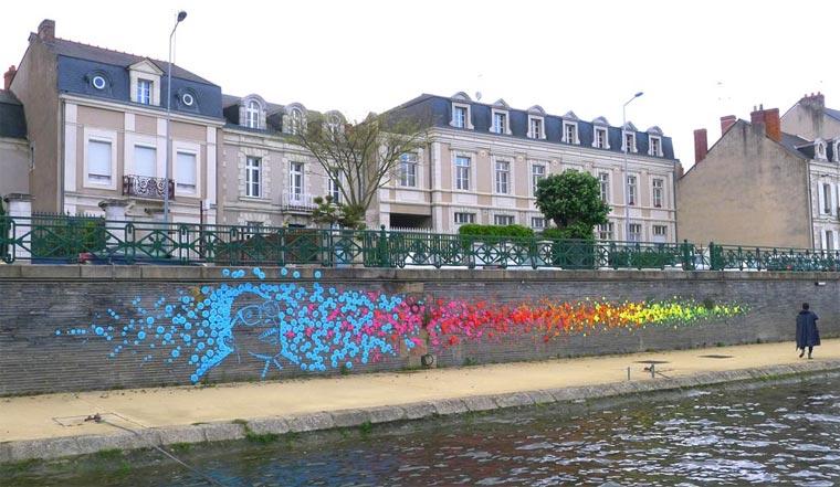 Origami-Street Art: Mademoiselle Maurice Origami_Street-Art_Madm-Maurice_01