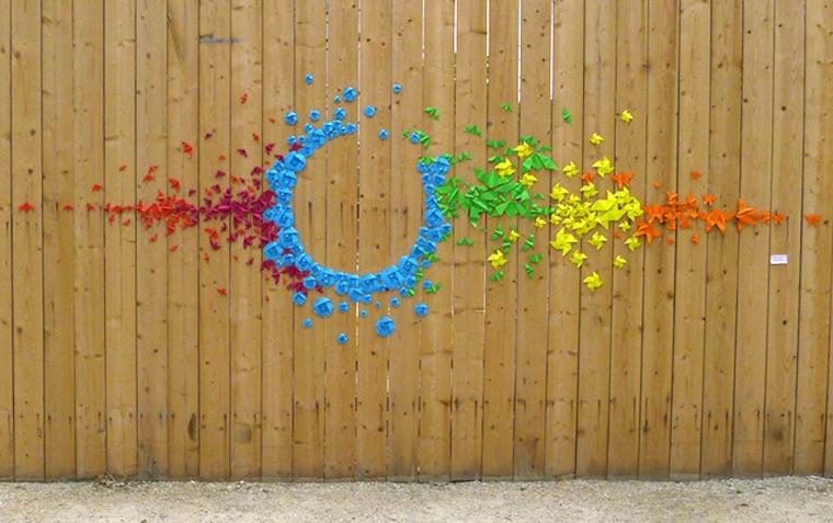Origami-Street Art: Mademoiselle Maurice Origami_Street-Art_Madm-Maurice_07