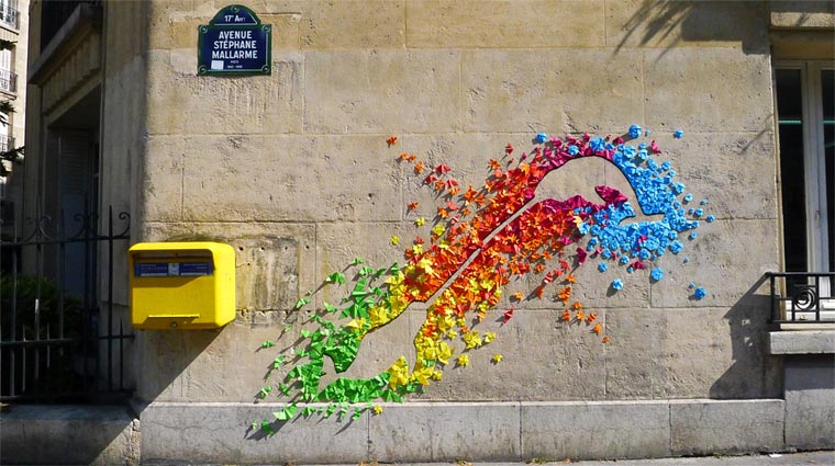 Origami-Street Art: Mademoiselle Maurice Origami_Street-Art_Madm-Maurice_08