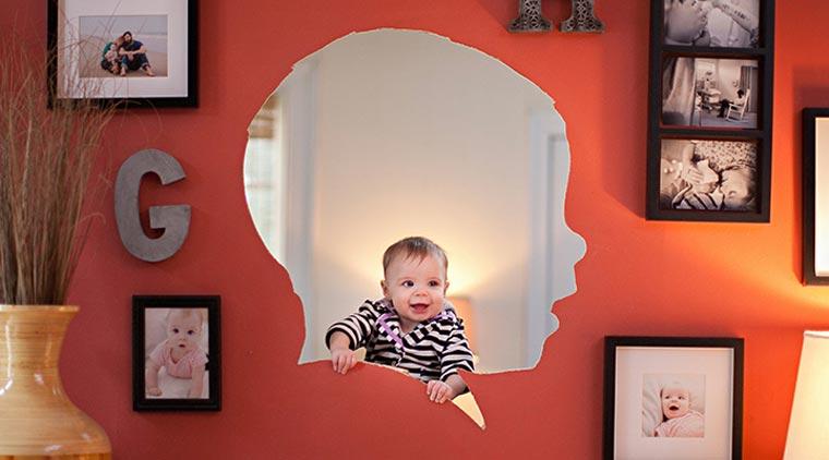 Designer macht wöchtentliche Profilportraits seiner Tochter Silhouette_project_07