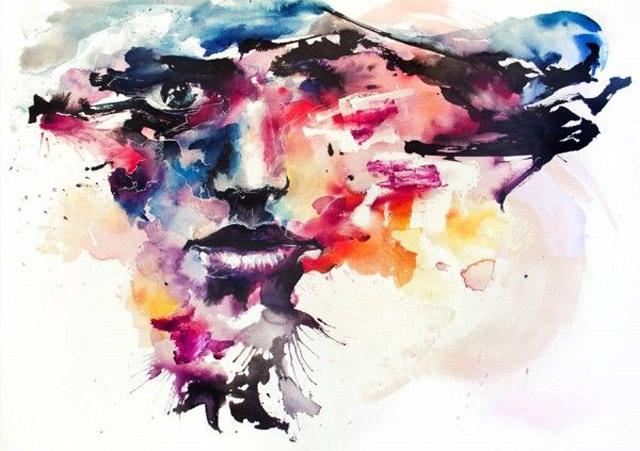 watercolor paintings by Silvia Pelissero