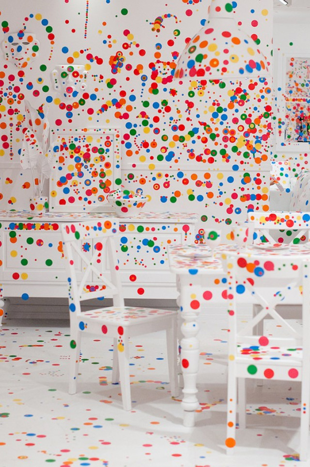 The Obligeration Room by Yayoi Kusama