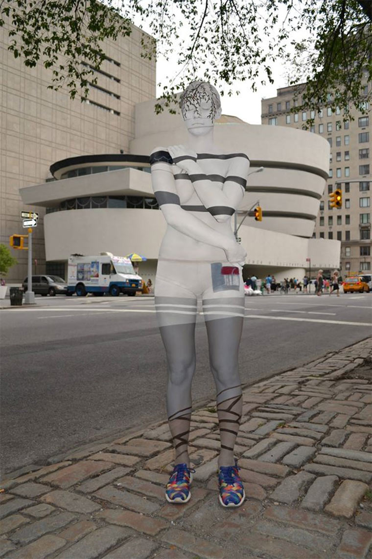 Mit Tarn-Body-Painting in New York Trina_Merry_06