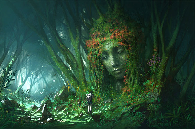 Digital Paintings: Yong
