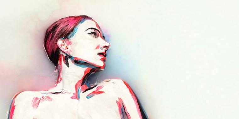 Acrylbemalte Models in Milch getunkt alexa_meade_milk_03