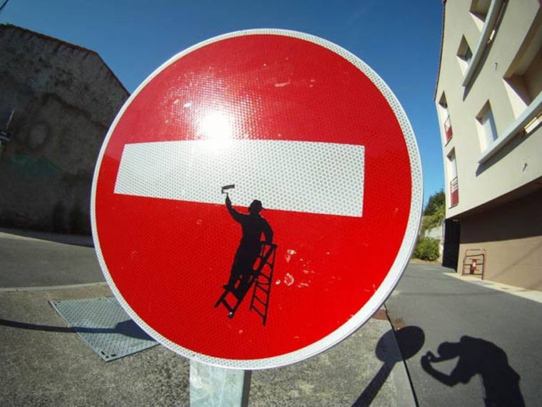 Street Sign Art clet_abraham_08