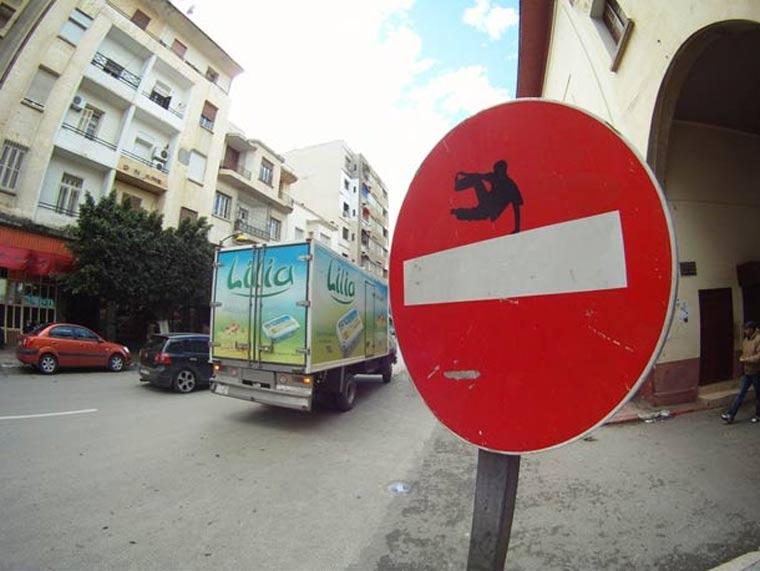 Street Sign Art clet_abraham_09