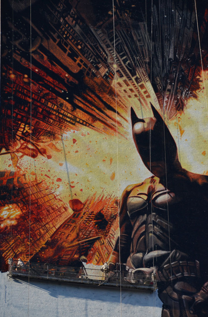 Batman: handgemaltes Riesenposter (45m) dark_knight_riesenposter_09