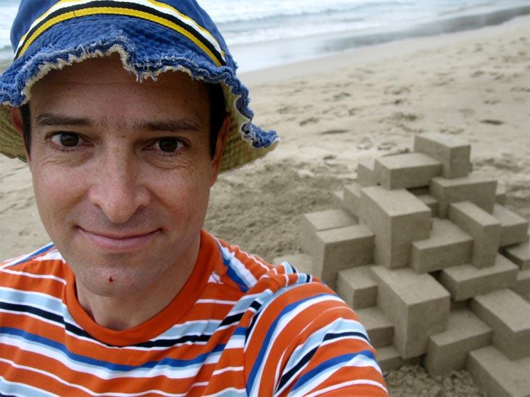 Geometrische Sandburgen geometric_sandcastles_Calvin_Seibert_09