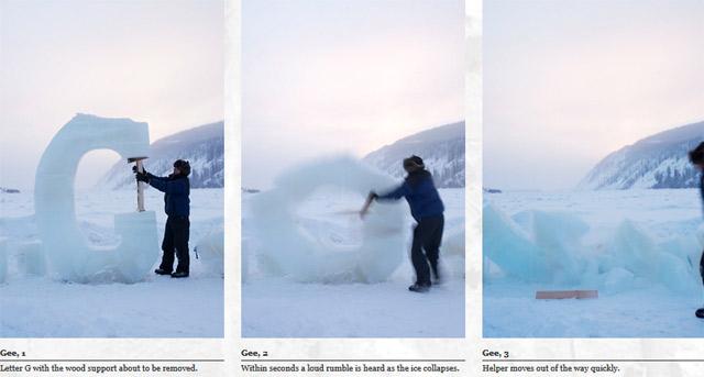 Typografie aus Eis icetypography_04