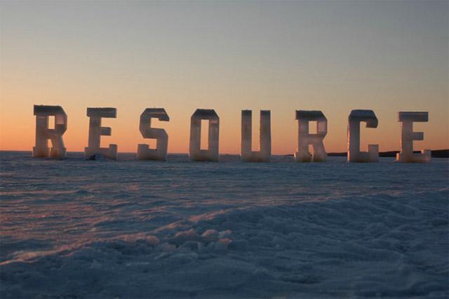 Typografie aus Eis icetypography_06