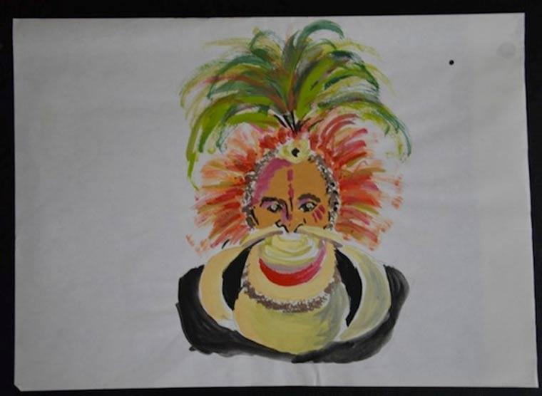 Werke eines Künstlers vom 2. bis 25. Lebensjahr marc_2-25_09