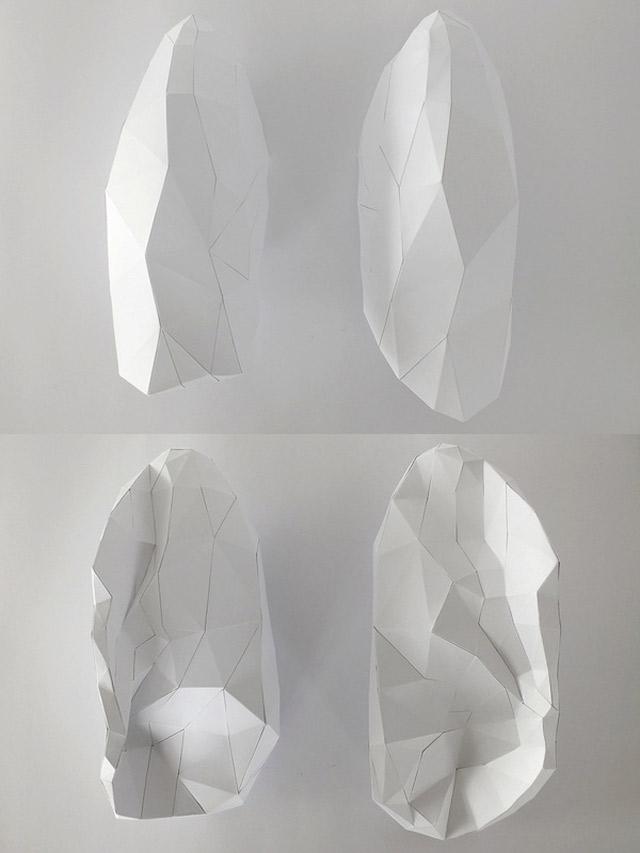 Der Körper besteht zu 100% aus Luft und Papier paper_torso_04