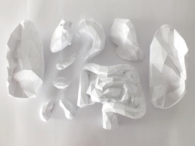 Der Körper besteht zu 100% aus Luft und Papier paper_torso_05