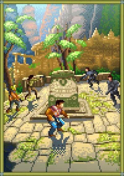 pixelige Videospielkunst pixelvideogameart_04
