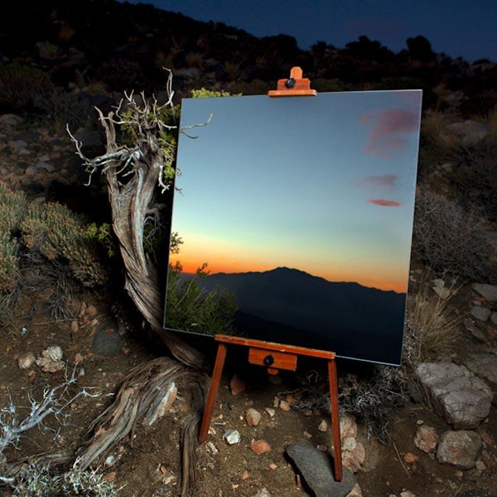 Spiegel-Leinwände in der Wüste spiegelleinwaende_03