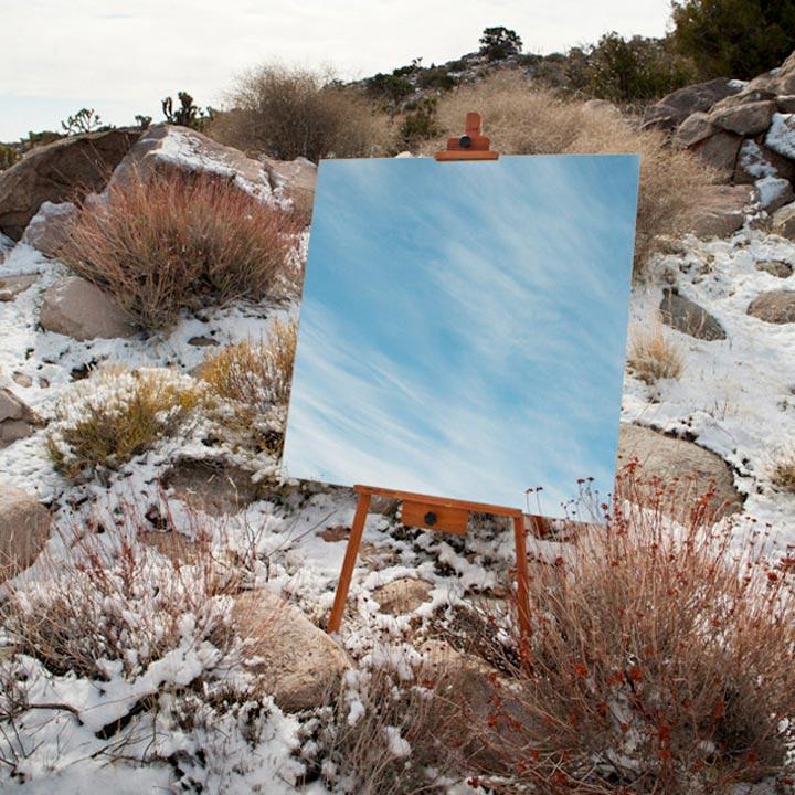 Spiegel-Leinwände in der Wüste spiegelleinwaende_05