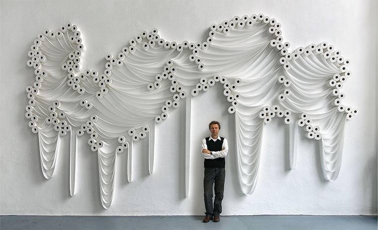 Kein Scheiß: Toilettenpapier-Kunst toiletpaperart_01