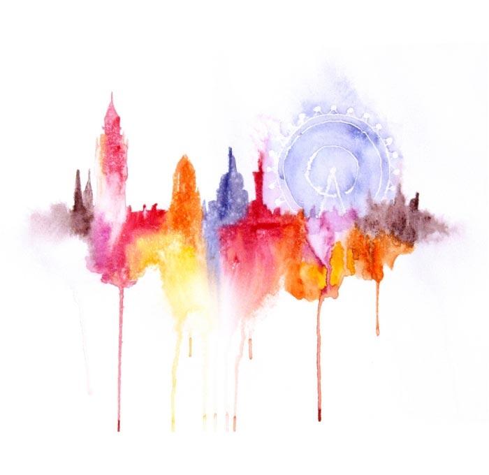Wasserfarbstädte