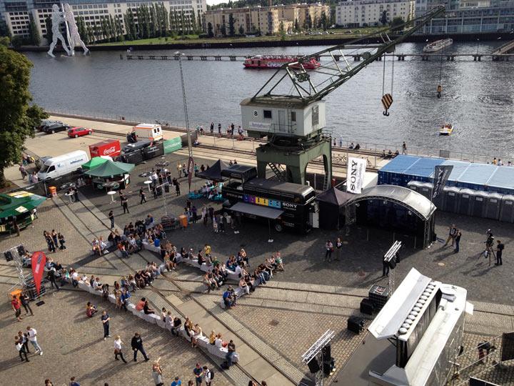 Musikalisches Wochenende 2: Auf den Dächern Festival Berlin_weekend_17