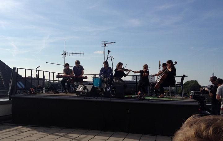 Musikalisches Wochenende 2: Auf den Dächern Festival Berlin_weekend_18