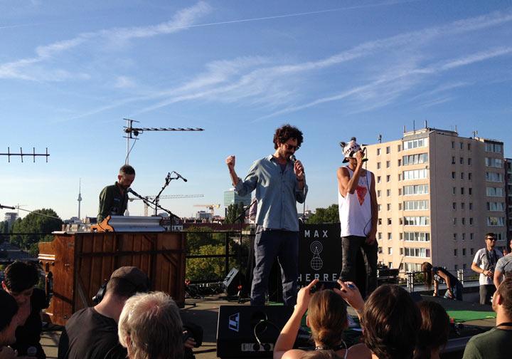 Musikalisches Wochenende 2: Auf den Dächern Festival Berlin_weekend_19