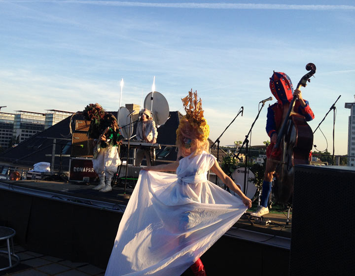 Musikalisches Wochenende 2: Auf den Dächern Festival Berlin_weekend_22
