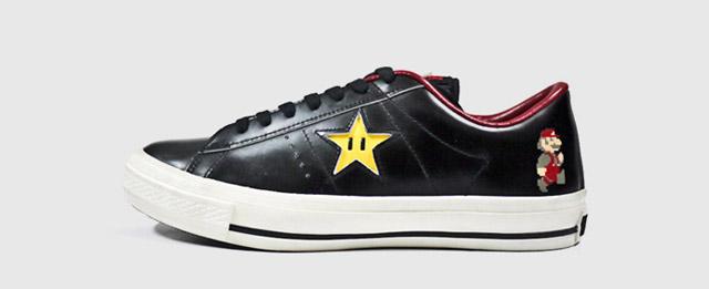 Sneaker: Super Mario Converse ConverseOneStarSuperMarioBros_OX2