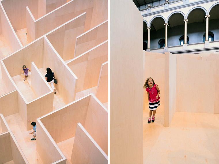 Labyrinth wird nach Innen ersichtlich BIG_maze_03
