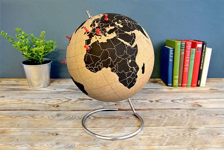 Der Kork-Globus