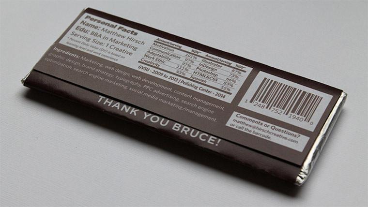 Lebenslauf als Schokoladenverpackung Hirschy_chocolate_CV_03
