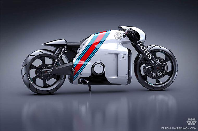 Motorrad-Konzept: Lotus C-01