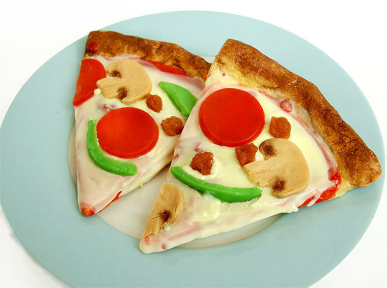 Pizza- und Burger-Seife Pizza-soap_01