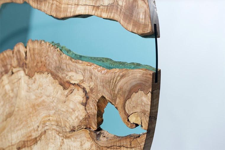 Holztische mit integrierten Glasflüssen Wood-with-Glass_04