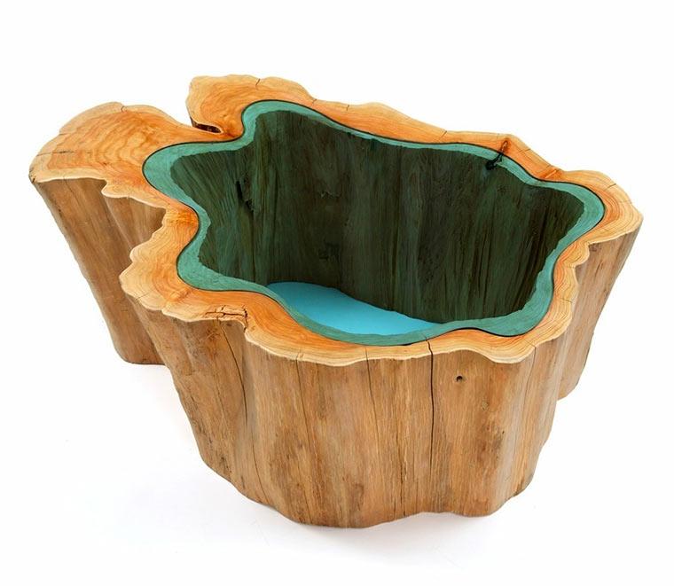 Holztische mit integrierten Glasflüssen Wood-with-Glass_06