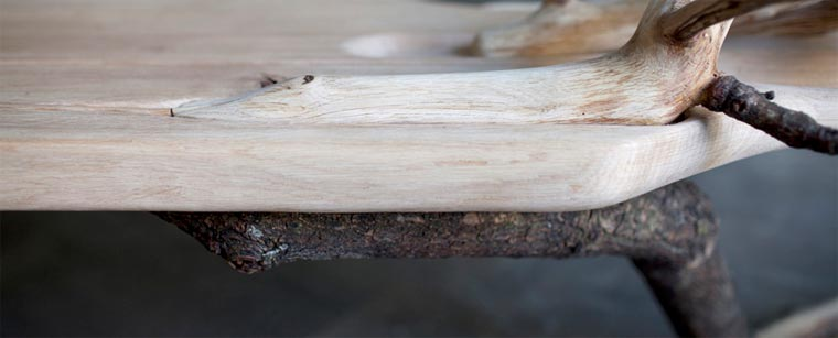 Stylisch: die Baumstammbank fallentree_03