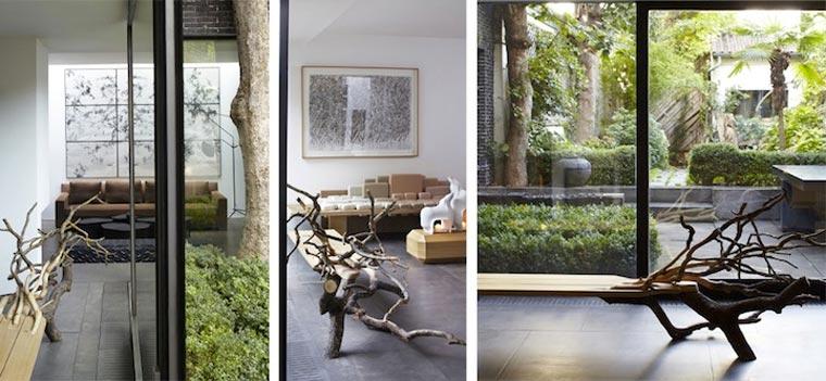 Stylisch: die Baumstammbank fallentree_04