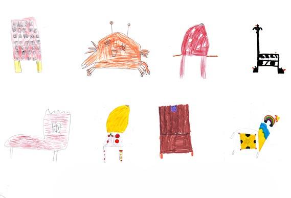 Von Kindern designte Möbel kids_chairs_06