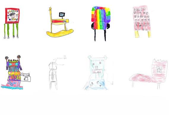 Von Kindern designte Möbel kids_chairs_07