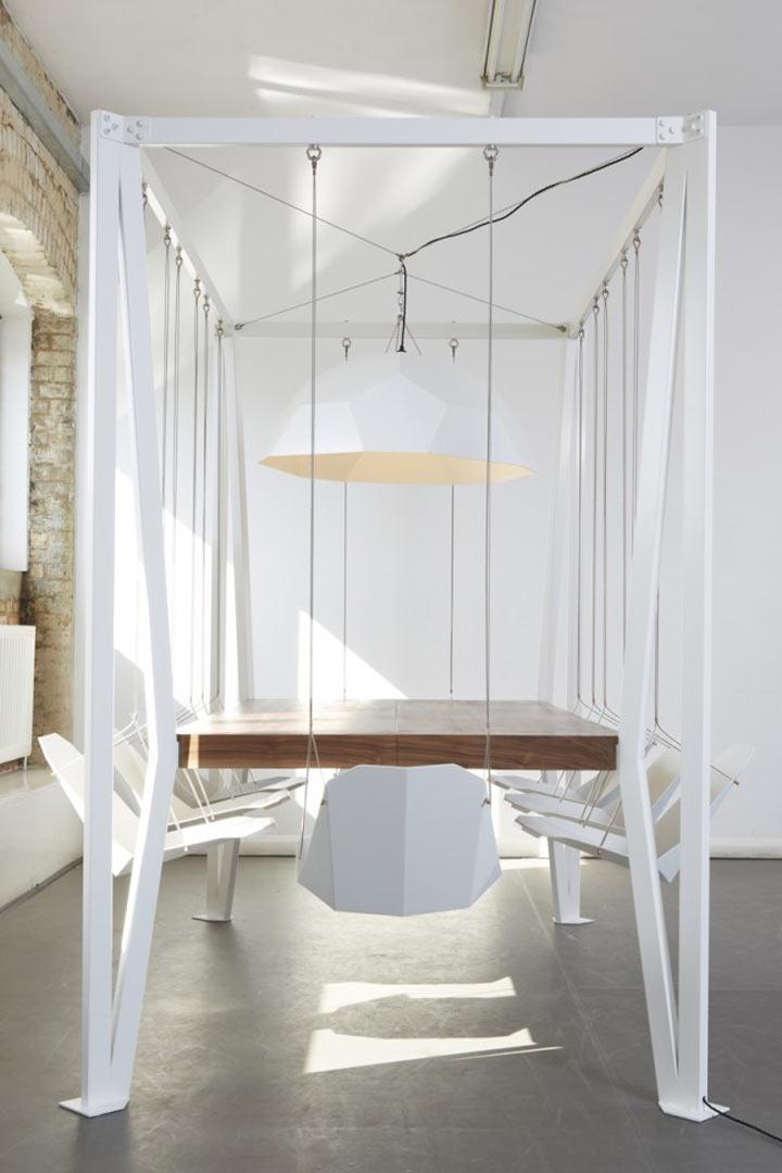 Beschwinktes Meeting? - Swing Table