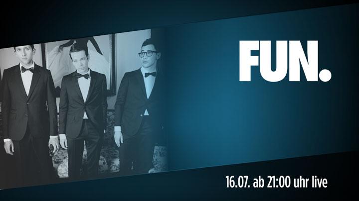 Gewinnt Musik: 5x2 Tickets für FUN. FUN_tapelive