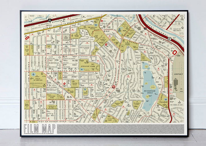 Straßenkarte voller Filmtitel Film_map_02